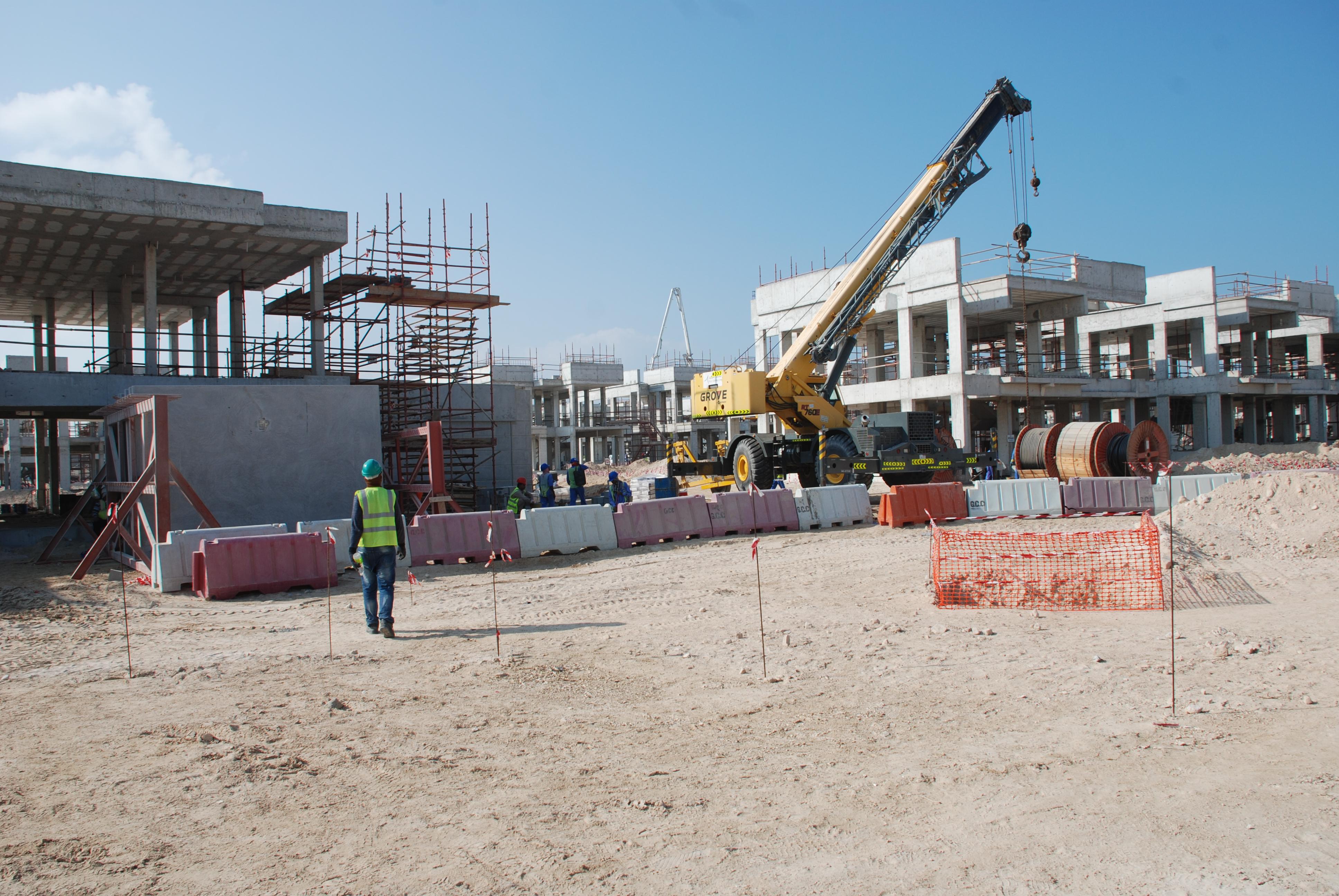 Landscape Works, Mock Up Package And Main Entrance Temporary Landscape Hidd  Al Saadiyat Island, Abu Dhabi